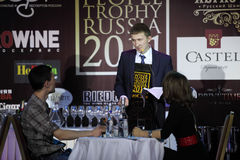 Nikolay Utebekov tomou o segundo lugar WPTR Fotografia de Stock