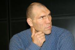 Nikolay Valuev Royaltyfria Bilder