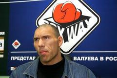 Nikolay Valuev foto de archivo libre de regalías