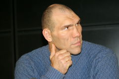 Nikolay Valuev Royalty Free Stock Images