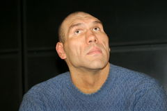 Nikolay Valuev Royalty Free Stock Images