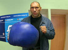 Nikolay Valuev Royalty Free Stock Image