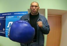 Nikolay Valuev Royalty Free Stock Photo