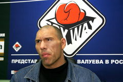 Nikolay Valuev Royalty Free Stock Photo
