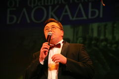 Nikolay Y Pozdeev - artysta estradowy, przygotowywający dla cokolwiek Zdjęcia Royalty Free