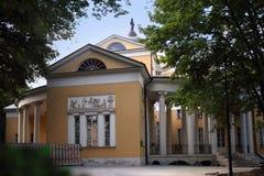 Nikolays Durasovs slott i det Lyublino s?terit, Moskvastad, Ryssland arkivbild