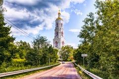 Nikolo-Berlyukovskaya修道院与 Avdotino 库存照片