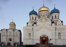 Nikolo Ugreshsky修道院 1824年被创办的大教堂工厂意味nevyansk责任人pyatiprestolny石变貌yakovlev Orth 免版税库存图片