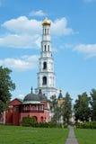 Nikolo-Ugreshsky monaster w Dzerzhinky przypuszczenia katedralna dmitrov Kremlin Moscow pocztówkowa regionu Russia zima Fotografia Royalty Free