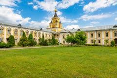Nikolo-Ugreshsky monaster w Dzerzhinsky, Rosja Zdjęcia Royalty Free