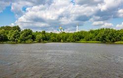 Nikolo-Ugreshsky monaster w Dzerzhinsky, Rosja Obrazy Royalty Free