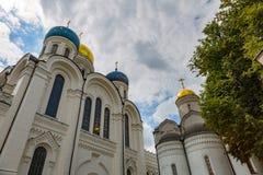 Nikolo-Ugreshsky monaster w Dzerzhinsky, Rosja Fotografia Royalty Free