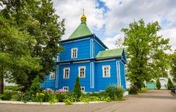 Nikolo-Ugreshsky monaster w Dzerzhinsky, Rosja Zdjęcie Royalty Free