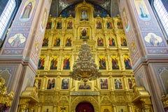 Nikolo-Ugreshsky monaster w Dzerzhinsky, Rosja Zdjęcie Stock