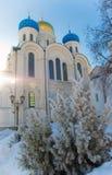 Nikolo-Ugreshsky Monastery. Stock Photo