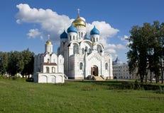 Nikolo-Ugreshsky monastery, Dzerzhinsky Stock Image