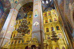 Nikolo-Ugreshsky Monastery in Dzerzhinsky, Russia royalty free stock photography