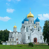 Nikolo-Ugreshsky monastery in Moscow region Stock Photo