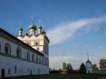 Nikolo-Vyazhishsky monastery near Veliky Novgorod. In the summer Stock Photography