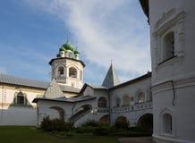 Nikolo-Vyazhishsky monastery near Veliky Novgorod. In the summer Royalty Free Stock Photo