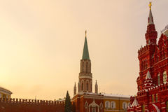 Nikolskaya Basztowy i Dziejowy muzeum Zdjęcie Royalty Free