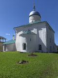 Nikolskaya church of Izborsk fortress Royalty Free Stock Photos