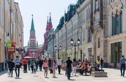 Nikolskaya Street Stock Photography