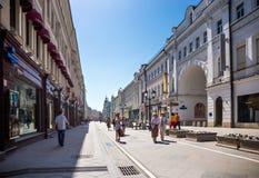 Nikolskaya Street Stock Image