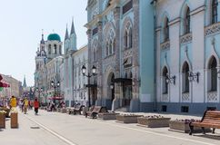 Nikolskaya Street Royalty Free Stock Photo