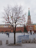 Nikolskaya Tower of the Kremlin Stock Photography