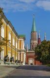 Nikolskaya Tower in Moscow Kremlin Stock Photo
