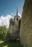 Nikolskaya Tower of Porkhov Battlements Royalty Free Stock Photos