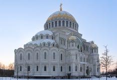 Nikolsky海军大教堂 库存图片