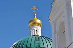 NIKOLSKY Cathedral fragments Stock Photos