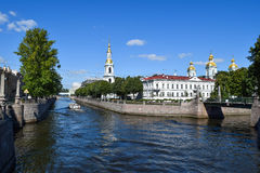 Nikolsky Cathedral. Stock Photography