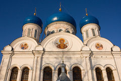 Nikolsky cathedral, Rogachevo, Russia Stock Photo