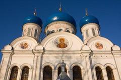 Nikolsky cathedral, Rogachevo, Russia. Nikolsky cathedral, Rogachevo, Moscow region, Russia Stock Photo