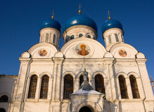 Nikolsky cathedral, Rogachevo, Russia Royalty Free Stock Image