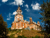 Nikolsky cathedral. Cathedral of St. Nicholas of Mozhaisk Kremlin stock photos