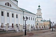 Nikolsky domkyrka i Kazan Fotografering för Bildbyråer