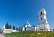 Nikolsky domkyrka i Serpukhov, Ryssland Fotografering för Bildbyråer