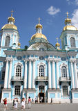 Nikolsky marine cathedral, St.Petersburg, Russia Royalty Free Stock Photos