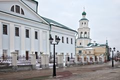 Nikolskykathedraal in Kazan Stock Afbeelding