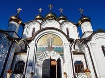 Nikolskykathedraal in pereyaslavl-Zalessky, Rusland Augustus, 2014 Stock Fotografie