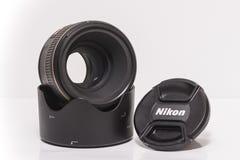Nikon af-s Nikkor 58mm f/1 4G lens stock fotografie