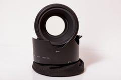 Nikon af-s Nikkor 58mm f/1 4G lens stock afbeeldingen