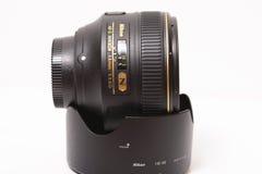 Nikon AF-S Nikkor 58mm f/1 lins 4G Arkivfoton
