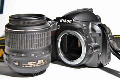DSLR Digital Camera  Royalty Free Stock Photography