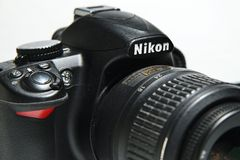 Nikon DSLR Royalty Free Stock Image
