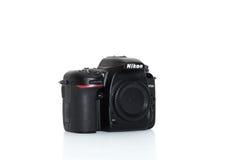 Nikon D7500 front left. Camera Stock Image